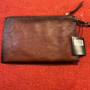 Frye wristlet leather